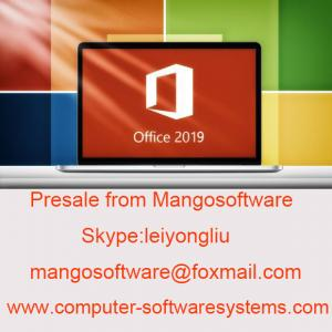 China Presale Genuine Microsoft Office 2019 License Product Key 100% Online Activation on sale