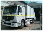 Compressed Sanitation Garbage Truck 6X4 for transporting rubbish