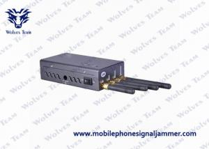 China Palm Sized Mobile Phone Signal Jammer Good Cooling System For Conference Center on sale
