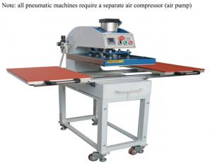 China 220V/110V Heat Press Transfer Machine / T Shirt Heat Press Machine High Accuracy on sale