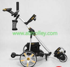 China S1T2 sports remote golf trolley(black, white, red are available) on sale