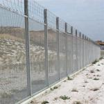 anti climb 358 high security welded wire mesh fence