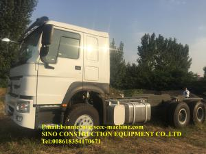 China 6x4 25ton 380hp Heavy Duty Semi Trailers Left Hand Driving on sale