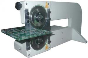 China Two Round Blades PCB Depanelizer For LED PCB Assembly PCB Cutting Machine on sale