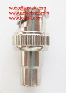 China Coaxial Adapter Coaxial Adaptor BNC Male Plug To RCA Female Jack For AV System/ BNCM.RCAF on sale