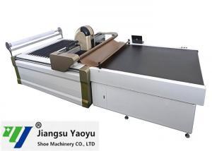 China Sofa Leather Cloth CNC Fabric Cutting Machine , CNC Knife Cutting Table on sale