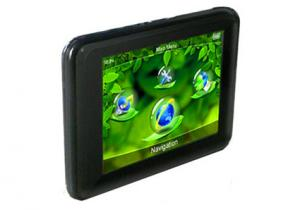 China 3.5 Inch Touch Screen Portable Car Gps Navigation V3503 on sale