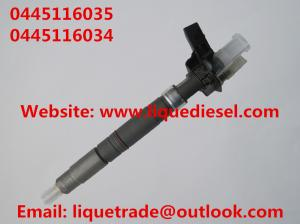 China Genuine & New Piezo Fuel Injector 0445116035 0445116034 for VW 03L130277C on sale