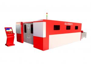 China Large Format Metal Fiber Stainless Steel Laser Cutting Machines For Carbon Sheet on sale