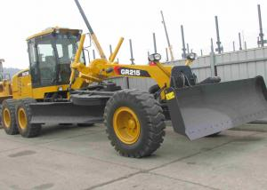 China Low Noise XCMG Motor Grader GR135 , XCMG Construction Machinery For Construction Site on sale