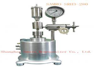 China Ultra high pressure Homogenizer max pressure be 2800 bar compressed gas Drive mode on sale