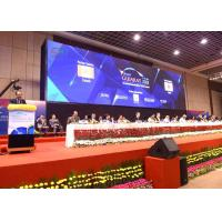 China Conference Room P3 Electronic Display Board High Brightness 576mm X 576mm on sale