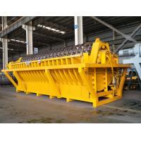 Yellow Tt Series Ceramic Vacuum Disc Filter For Gold Zinc Iron Mine Dewatering