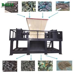 China Single Shaft Plastic Shredder Machine / Chipper Machine For PET Bottle Rubber Tire on sale
