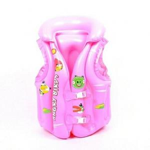 China Inflatable swim vest and life jacket for promotional toys on sale