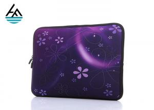 China Beautiful Pattern Durable Neoprene Laptop Carrying Case With Hidden Handle on sale
