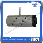 8 channel high pressure hydraulic rotary joint, low speed rotary union