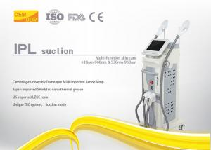 China Beauty Salon Diode Laser Hair Removal Machine IPL / SHR Technology With LCD Display on sale