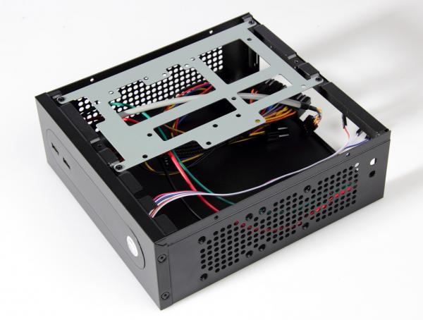 Black Steel Mini Itx Thin Client Cases