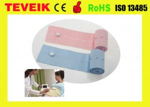 China Latex-free disposable  fetal monitor belt / abdominal CTG belts with Biocompatibility Test on sale