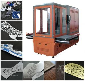 China Leather Shoe Laser Engraving Machine ZJ(3D)-15075TB on sale