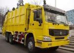 16cbm LHD / RHD Trash Compactor Truck, 6x4 HW70 Cabin Hydraulic Garbage Truck