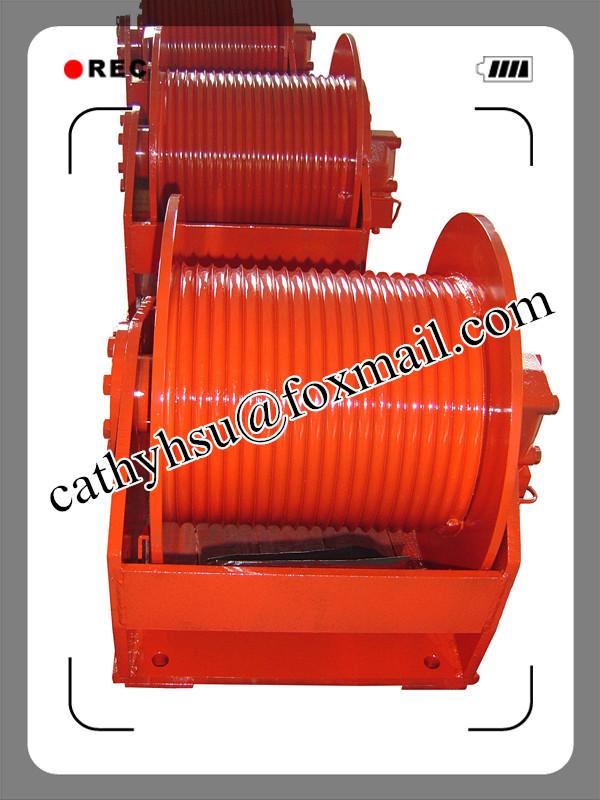 hydraulic winch hoisting winch marine winch dredger winch
