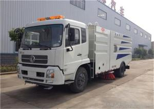 China RHD Dongfeng 4x2 Vacuum Sweeper Truck , 4000 Liters Road Cleaning Machine on sale