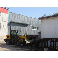 Hydraulic mechanical garden tractor with front loader quick hitch other attachments option