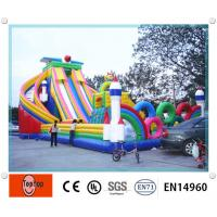 Water Slide Commercial Inflatable Bouncers Commercial Grade for kids