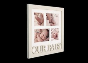 China 4x6 Inches Baby Photo Frames Baby Memories For New Born Boy Girl Infant on sale