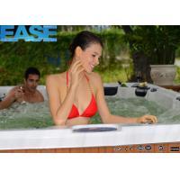 Custom whirlpool massage outdoor aristech acrylic swim spa hot tub with balboa system, 75pcs massage jets