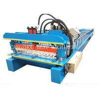 380v 3kw Galvanized Corrugated Roof Sheet Roll Forming Machine Manufacturer