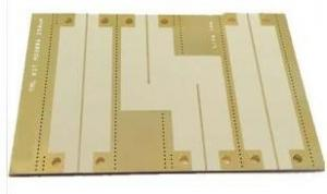China 8layers of 3nd order HDI High Frequency PCB Made on ISOLA4002N with White Silkscreen on Top Side rotopcb board prototype on sale
