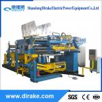 amorphous transformer double layer foil coil winding machine