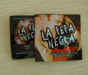 China Safe Natural Herbal Male Enhancement Sex Drive La pepa Negra Sex Capsules on sale