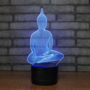 Novelty Gift Item 3d Acrylic Led Small Night Light Table Lamp Night