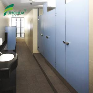 China Solid Color Waterproof Phenolic Compact Laminat HPL Toilet Partition on sale