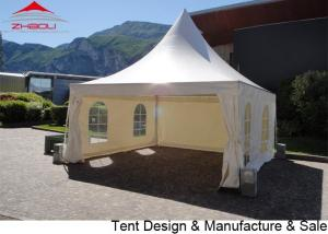 China 4x4m double PVC Coated Polyester Textile Pogoda Event Tent With Sidewall on sale