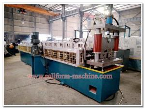 China 2 in 1 Steel U C Profile Channel Rolling Machine with Auto Corner Metal Sheet Cutting Equipment on sale
