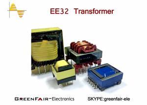 China Vertical Horizontal EE40 42 Hf Power Transformer , UEWF LITZ WIRE High Isolation Transformer on sale