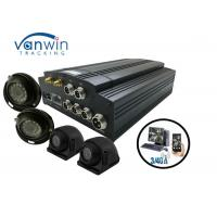 HD CCTV Vehicle Camera 4 Channel Mobile DVR Car Tracking Onboard