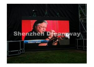 China Outdoor LED Video Screen Rental P10 Advertising with Aluminum Thin Cabinet on sale