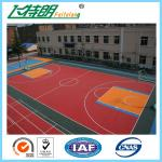 Coloured Polypropylene Flooring Heavy Duty Exercise Floor Tiles Eco - Friendly