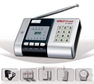 China Wireless Anti-decode Auto-Dial Burglar Alarm System(YL-007KX) With Keypad & LED on sale