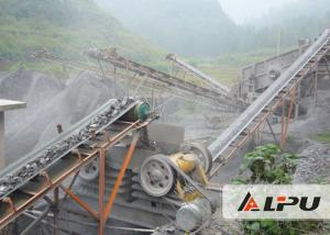 China Large Capacity Complete Stone Crushing Plant for Aggregate , Stone Jaw Crusher on sale