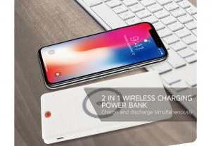 China Portable Wireless Power Bank 6000 mAh Safety Circuit Protection With MCU Control on sale