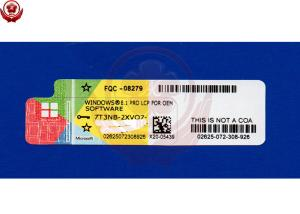 China Microsoft Windows License Sticker 64 Bit/32 Bit OS Windows 8.1 Product Key Sticker on sale