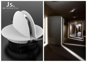 China 6W RGB recessed color changing led ceiling light with DMX Dali control system on sale