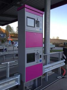 China Self Service Parking Lot Used Kiosk for Card Dispensing and Payment on sale